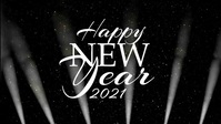 Copia de w Year 2020 Light Beams