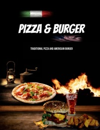 Copie de MOVIE BURGER Flyer (US Letter) template