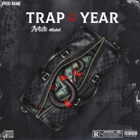 Copie de Trap of the year - CD COVER ART - Instagram Post template