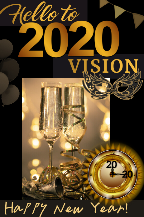 2020 vision template