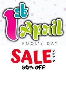 Copy of April Fool's Day Sale Flyer