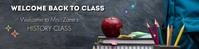 Art Class Google Banner Template