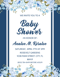 700 Baby Shower Invitation Customizable Design Templates
