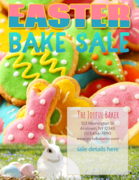 Copy of Bakery Easter Day Sale Flyer