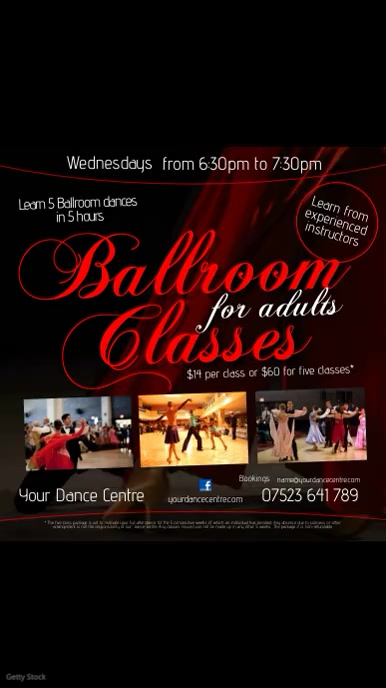 Copy of Ballroom Poster