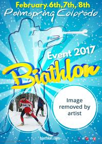Copy of Biathlon Event Poster