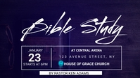 BIBLE STUDY Facebook-omslagvideo (16:9) template