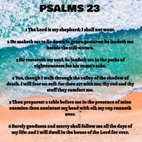 Bible verses Instagram Post template