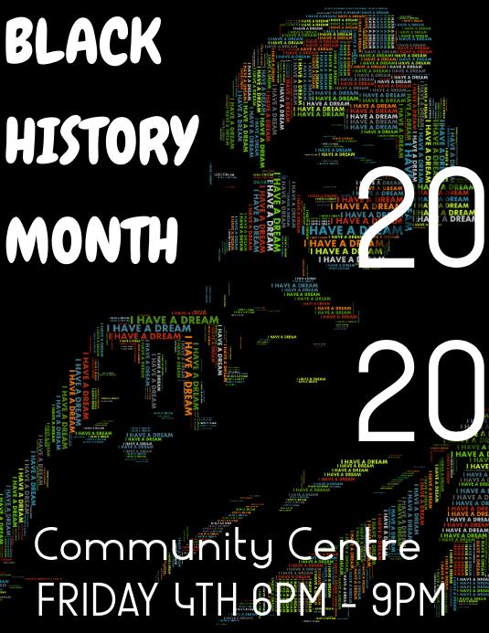 blach history month Iflaya (Incwadi ye-US) template