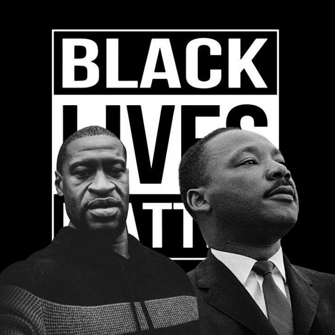 black lives matter Publicación de Instagram template