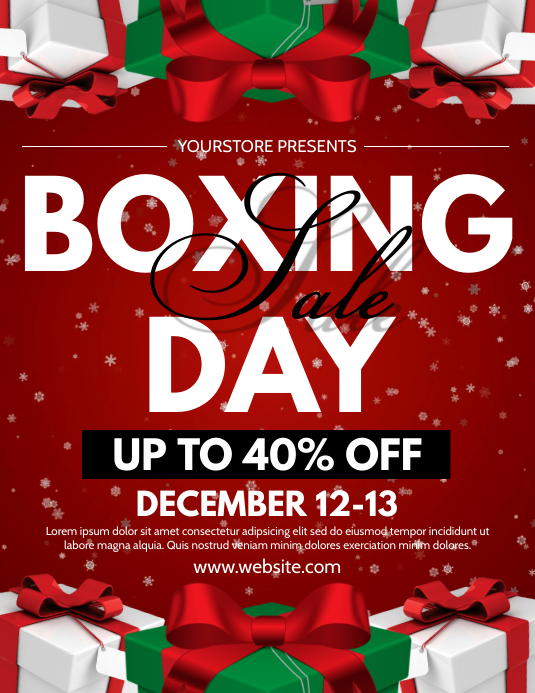 Copy of Boxing Day