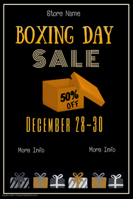 Copy of Boxing Day Sale Poster