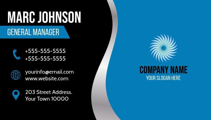 Business Card Visitkort template