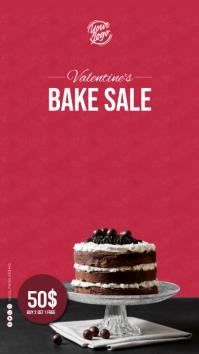 Cake offers Digital Display (9:16) template