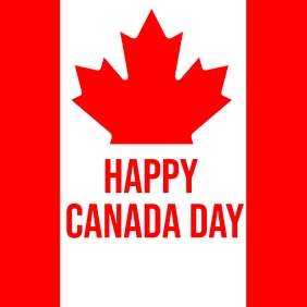 canada day Instagram Post template