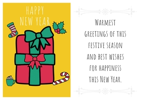 Copy of CHRISTMAS AND NEW YEAR CARD 2019