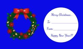 Christmas Tag/Gift Tag Merker template