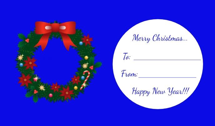 Copy of Christmas Tag/Gift Tag