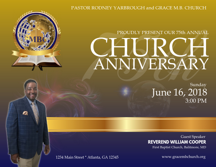 Copy of Church Anniversary