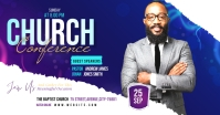 Church Conference Facebook Ad template