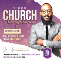 Church Conference Album Omslag template