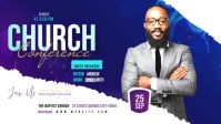 Church Conference Video Sampul Facebook (16:9) template