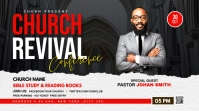 Church Conference flyer Twitter Post template
