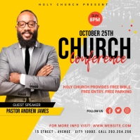 Church Conference Flyer Template Okładka albumu