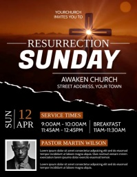 Church Flyer (US Letter) template