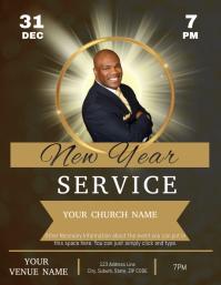 Copy of CHURCH NEW YEAR SERMON SERVICE TEMPLA