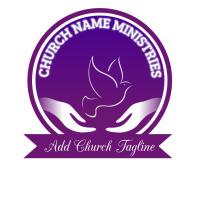 Church poster Logotipo template