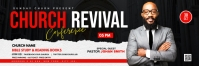 Church Revival flyer Twitter 标题 template