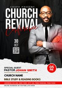 Church Revival flyer A4 template
