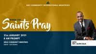 CHURCH SERVICE Vidéo de couverture Facebook (16:9) template