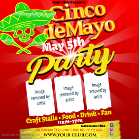Copy of Cinco de Mayo Party Flyer