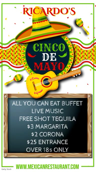 Copy of Cinco de Mayo Video Template