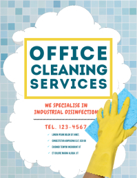 Copy of Cleaning Flyer Template