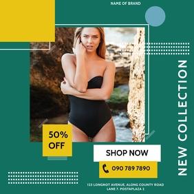CLOTHING SALE OFFER Publicación de Instagram template