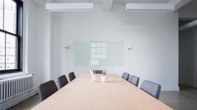 Conference Room - Zoom Background Tem งานนำเสนอ Presentation (16:9) template
