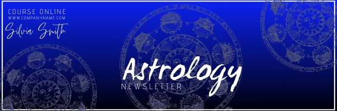 astrology course online mailh Header Email template