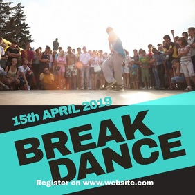 Copy of Copy of Break dance event