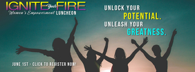 Fire & Ice Party Prop Frame Facebook-coverfoto template