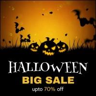 Halloween poster Iphosti le-Instagram template