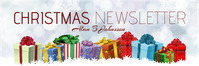 mail header christmas newslet template
