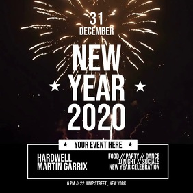 Copy of Copy of new year poster