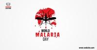 world malaria day auf Facebook geteiltes Bild template