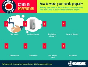 Coronavirus Wash Hands Prevention Vid