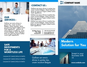 corporate professional services desig Flyer (US Letter) template