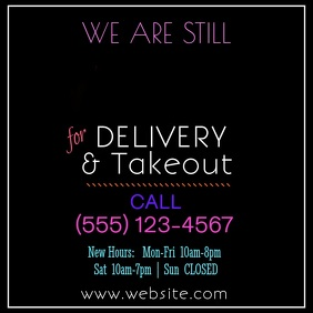 Copy of Delivery/Takeout Video