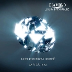 Copy of DIAMOND BACKGROUND VIDEO AD
